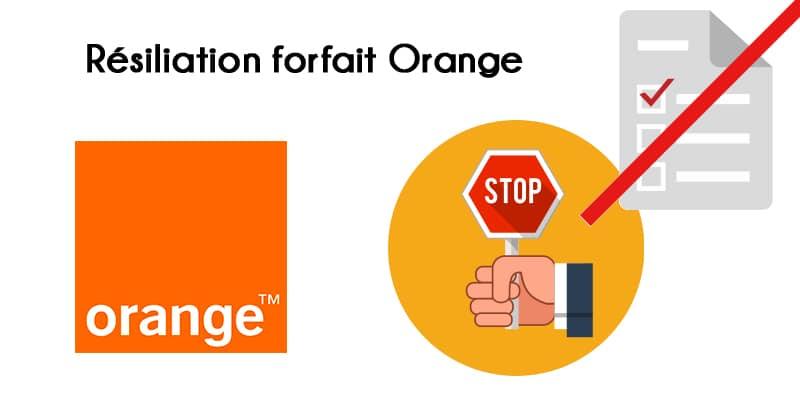 adresse resiliation forfait orange