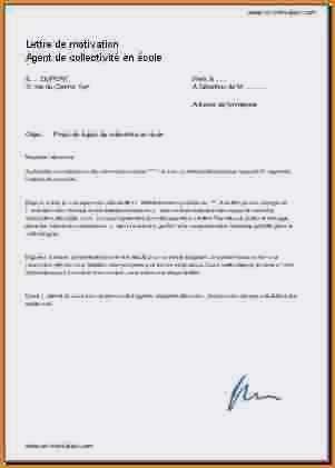 agent d'entretien lettre de motivation