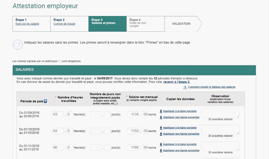 attestation employeur cesu pdf - Modele de lettre type