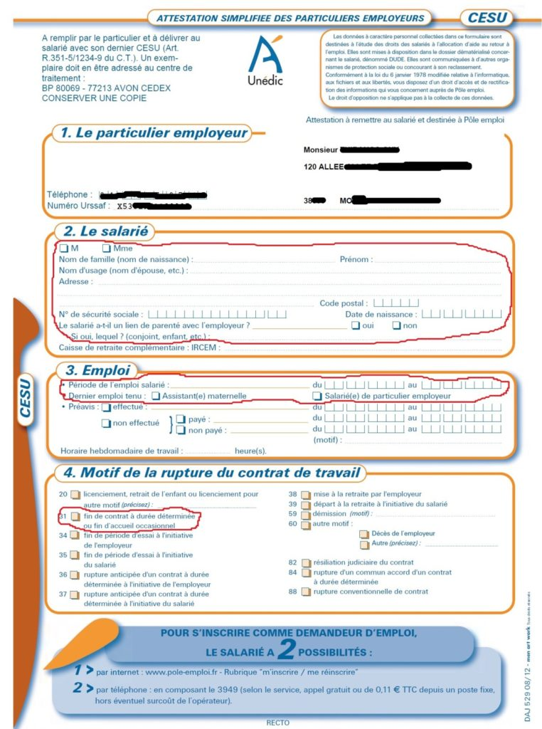 attestation particulier employeur telecharger