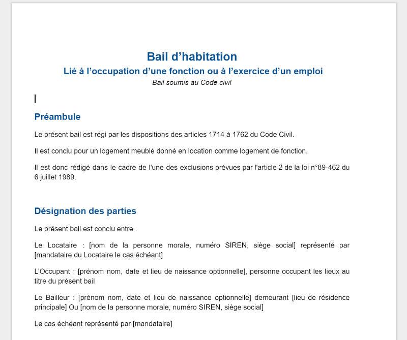 bail commercial model