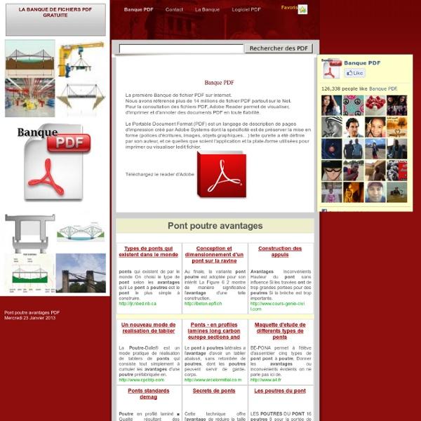 banque de pdf gratuit