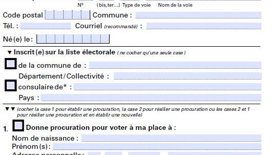 comment annuler une procuration de vote