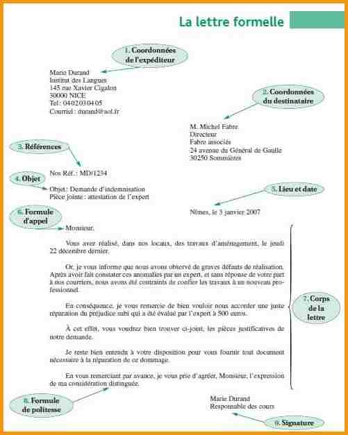 comment rediger une lettre administrative gratuit