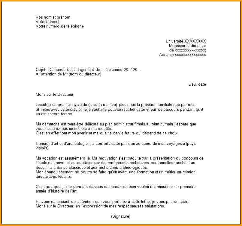 courrier administrative