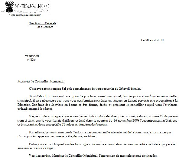 courrier d'opposition cheque