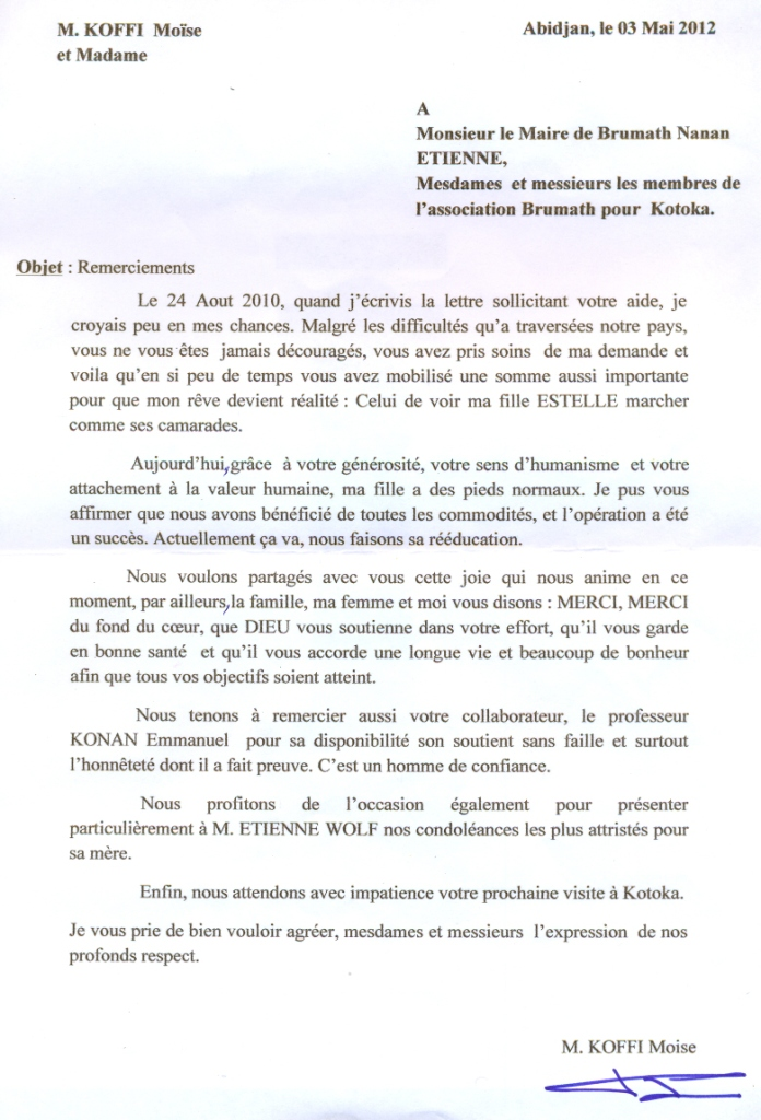 lettre attestation employeur