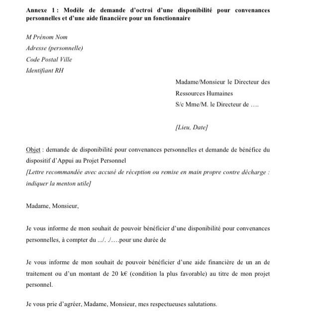 Courrier Depart En Retraite Fonctionnaire Modele De Lettre Type