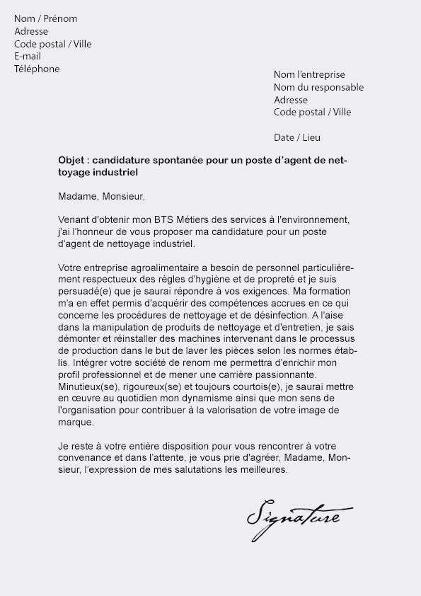 courrier resiliation canalsat - Modele de lettre type