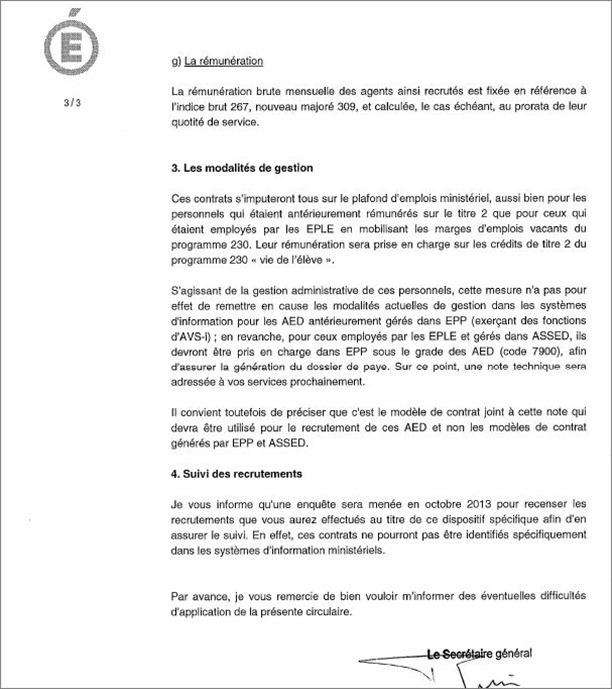 courrier suspension contrat