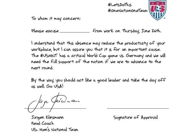 exemple de lettre d'excuse pour absence au travail