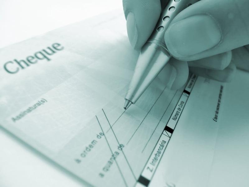 exemple de lettre de desistement d'un cheque