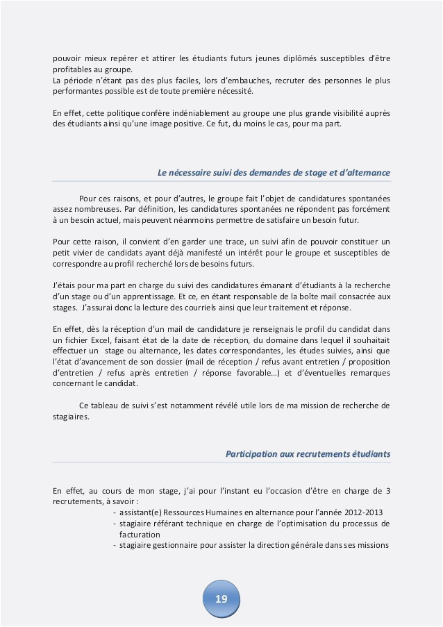 exemple lettre candidature