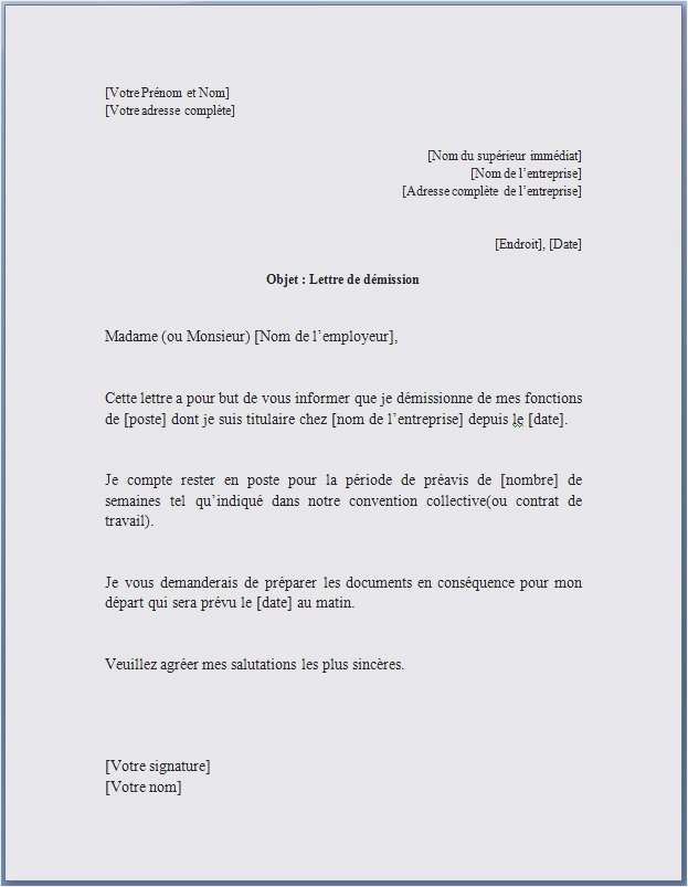exemple lettre de collaboration