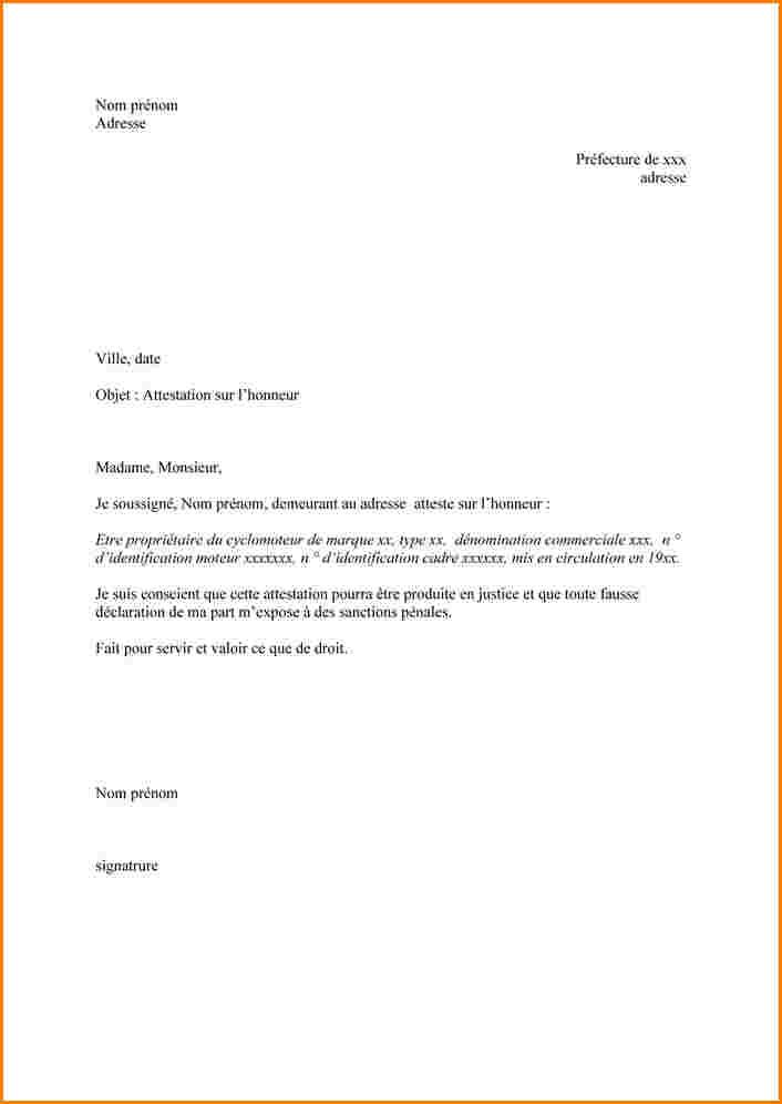 exemple lettre de domiciliation