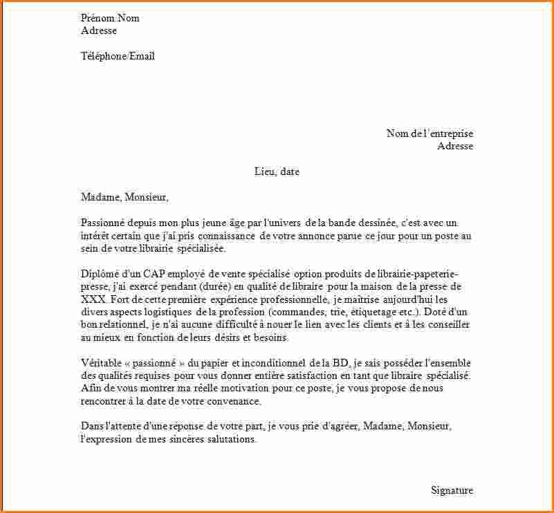 exemple lettre de motivation secretaire medicale