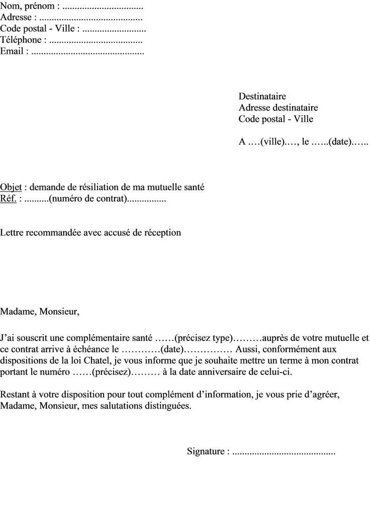 exemple lettre demenagement