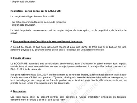 exemple lettre huissier justice