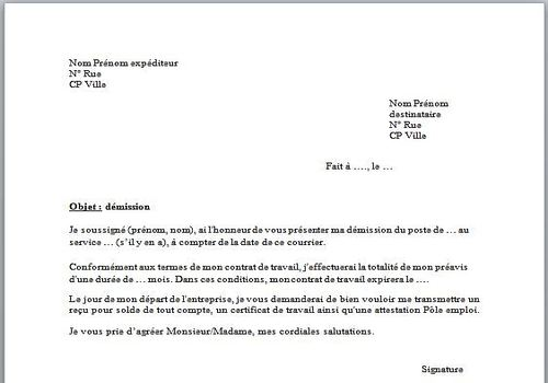 exemple lettre procuration administrative