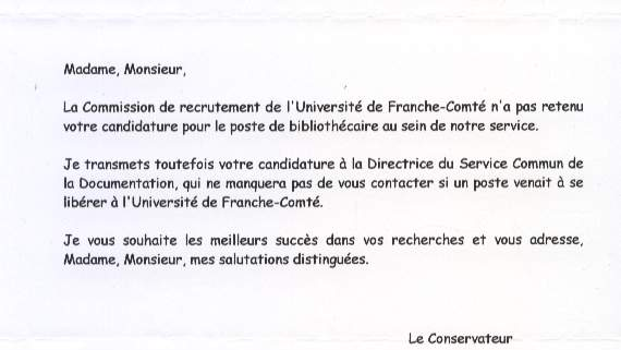 exemple mail relance candidature