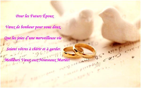 exemple texte felicitations mariage - Modele de lettre type