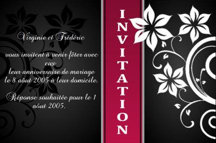 faire des cartes d'invitation gratuit
