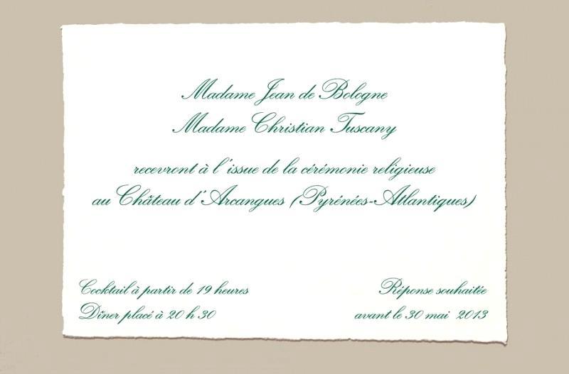 faire une invitation