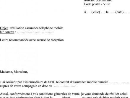 formulaire annulation de vente voiture