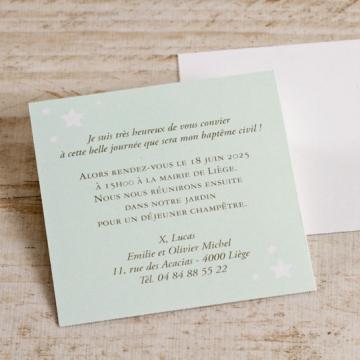 invitation a un bapteme