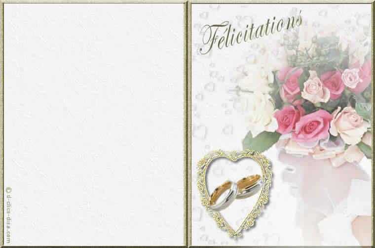 invitation mariage gratuite