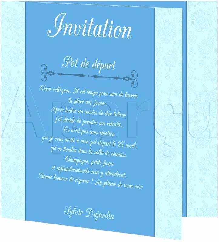 invitation retraite modele