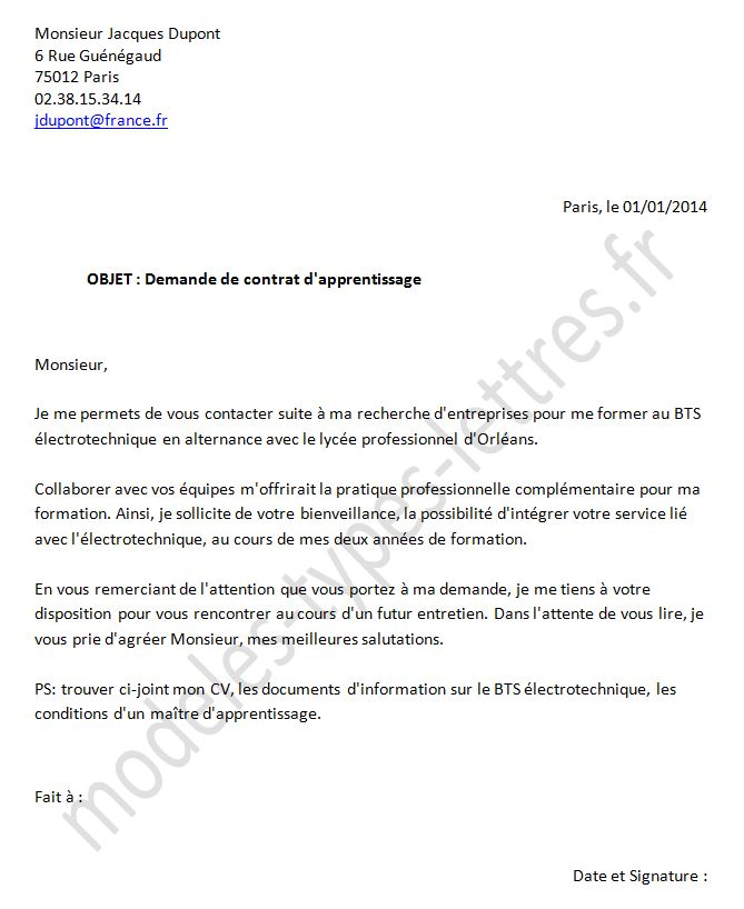 lettre procuration poste - Modele de lettre type