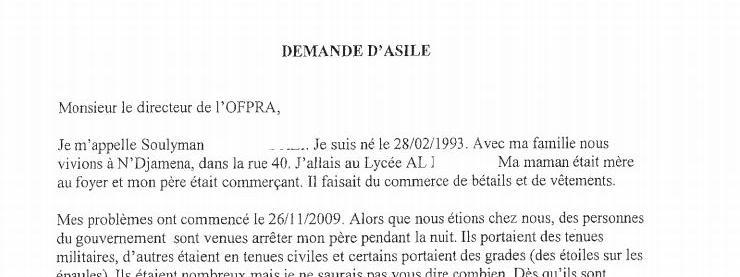 lettre administrative pour demande d emploi