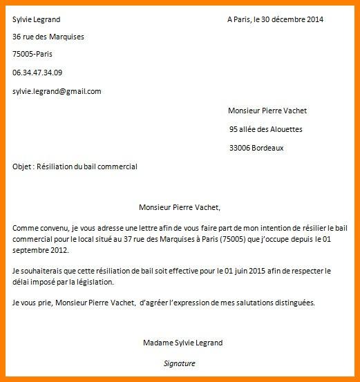 lettre attestation