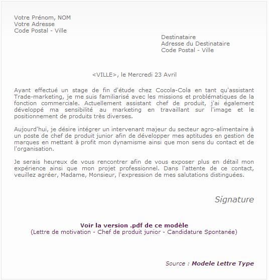 Lettre Candidature Spontanee Secretaire Medicale Modele De Lettre Type