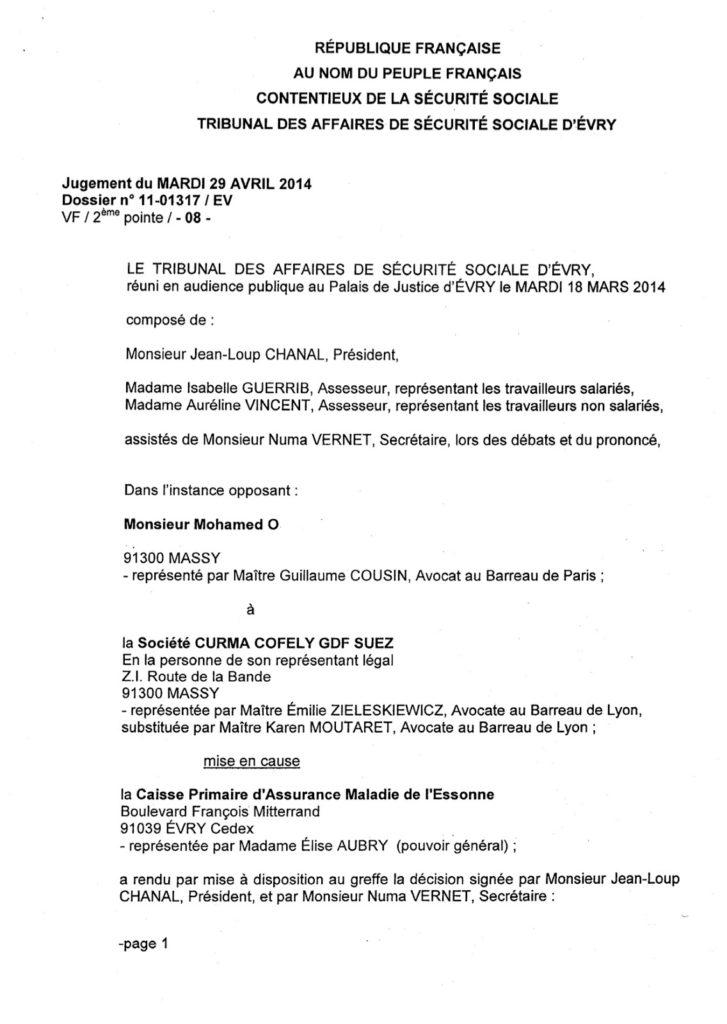 lettre contestation facture gdf - Modele de lettre type