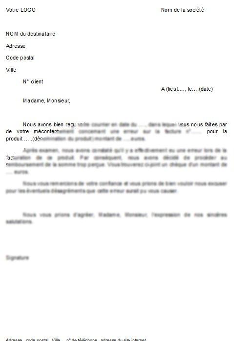 lettre d'excuse pour absence reunion
