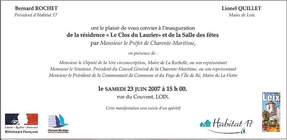 lettre d'invitation a un maire