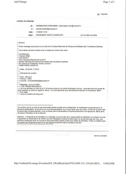 lettre de contestation pour la securite sociale