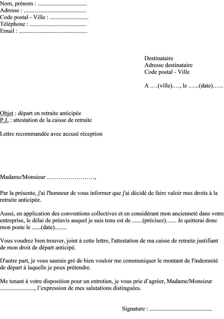 lettre de demande d u0026 39 attestation de travail