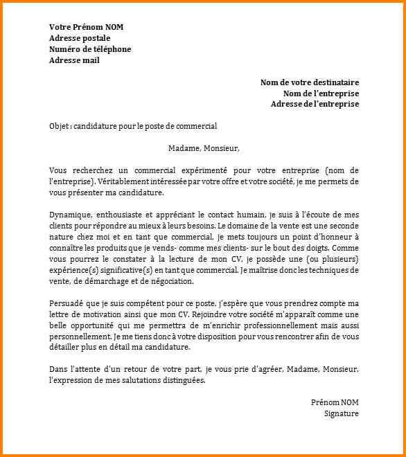 lettre de demande d emploi lettre de motivation