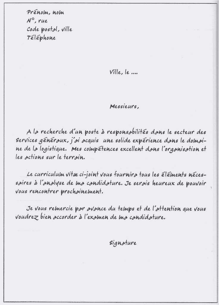 lettre de demande de duplicata de facture