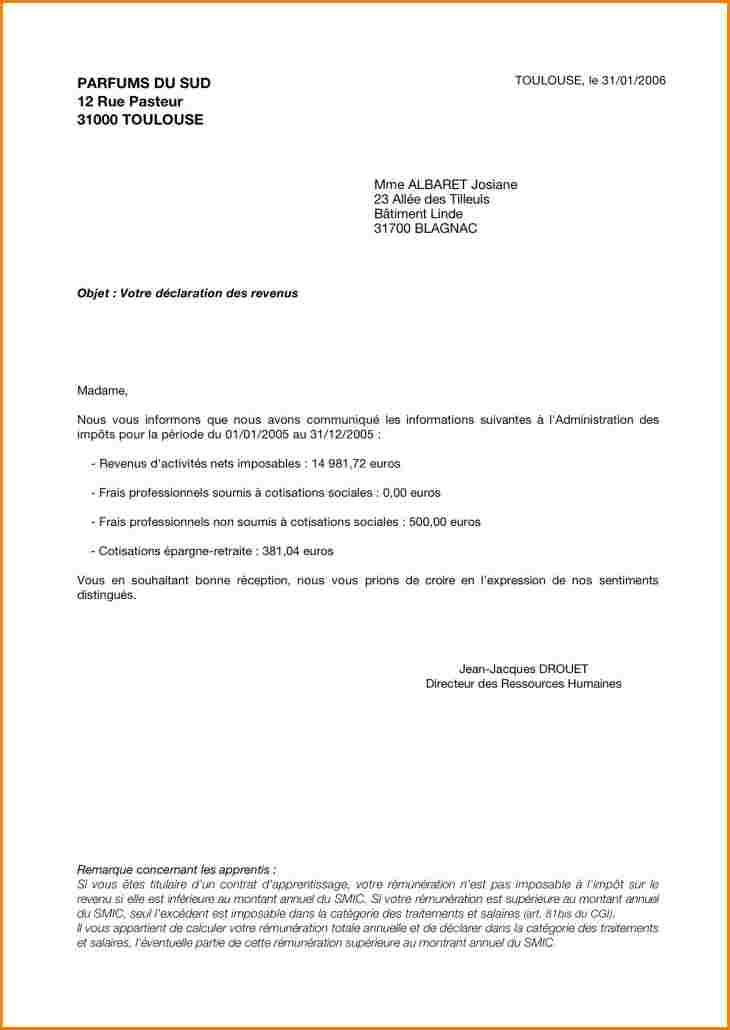 lettre de depart en retraite a son employeur