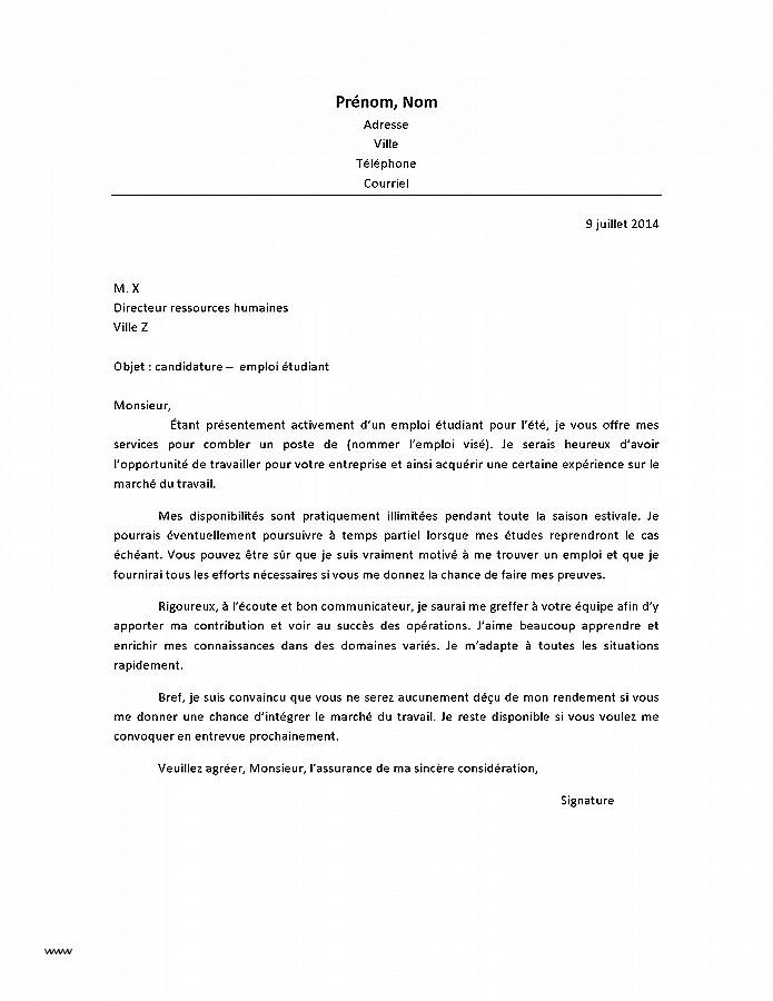 lettre de motivation creche