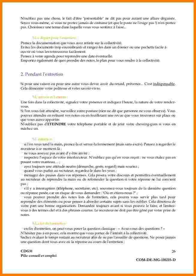 lettre de motivation dans la fonction publique