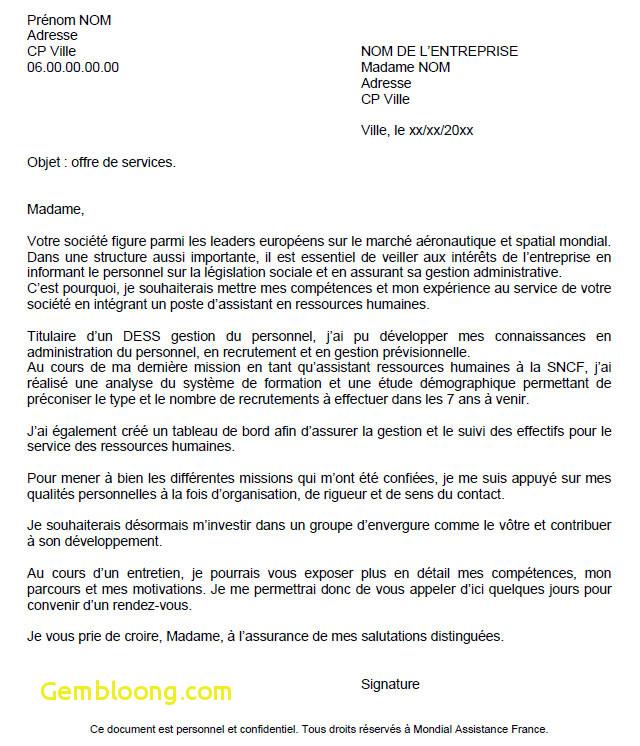 lettre de motivation emploi estheticienne - Modele de ...