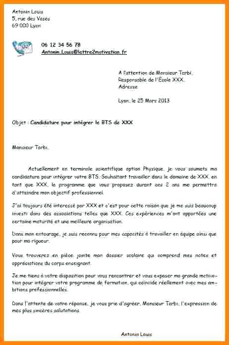 lettre de motivation gratuite manager