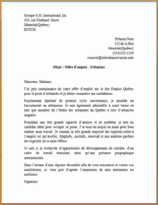 lettre de motivation gratuite secretaire administrative