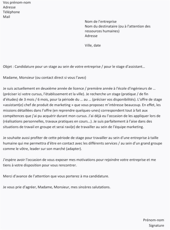 lettre de motivation manager restaurant