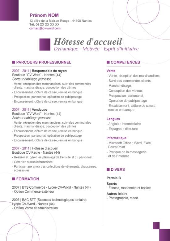 Lettre De Motivation Pour Agent D Accueil Gratuite Modele De